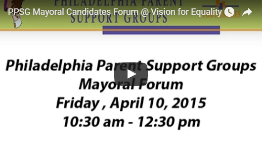 PPSG Hosted Mayoral Candidate Forum @Vision for Equality